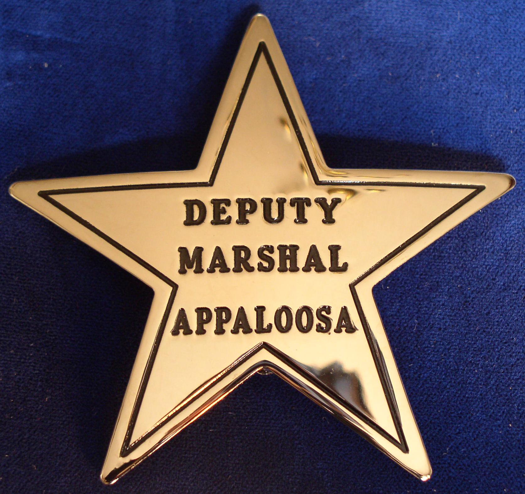 Appaloosa Deputy Marshal [SP186]