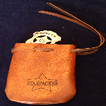 StarPacker Badges Brown Pouch[New For 2014!]