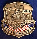 StarPacker's 911 Remembrance Shied badge