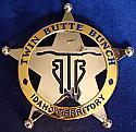 Twin Butte Bunch Idaho Territory Club Badge