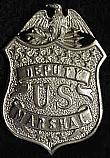 The 1920 Deputy US Marshal Badge