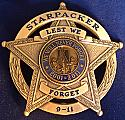StarPacker's 911 Remembrance Star badge