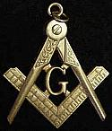 Masonic Traditional Watch Fob
