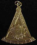 Masonic Sun Watch Fob