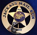 Jackass Mail Run Club Badge